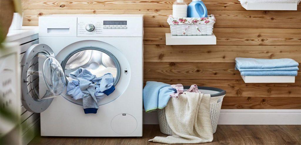 ضدعفونی ماشین لباسشویی