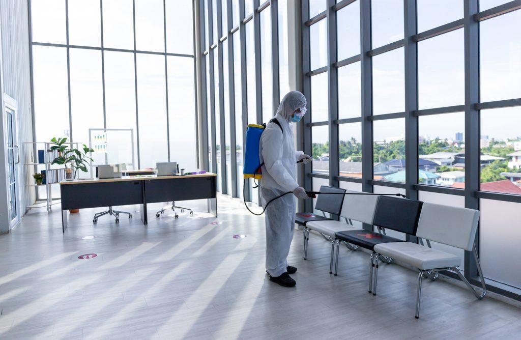 سلامت در محل کار با ضدعفونی اصولی