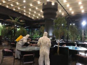 ضدعفونی رستوران ها