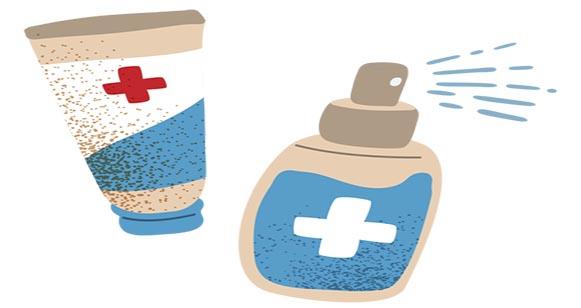 محلول و ژل ضدعفونی