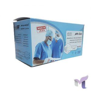 ماسک سه لایه پزشکی طاهر